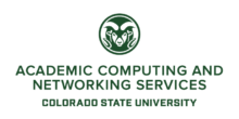 Academic Computing & Networking Services Unit Logo