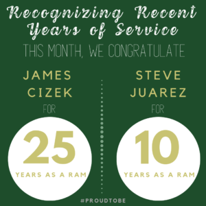Years of Recognition Announcement